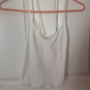 Fashion nova white crop top